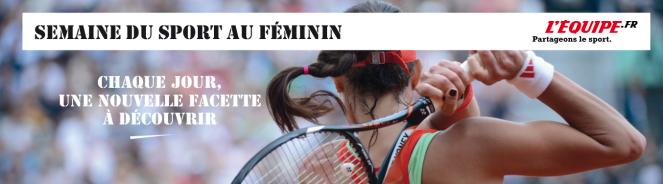 Semaine du sport au feminin Lequipe