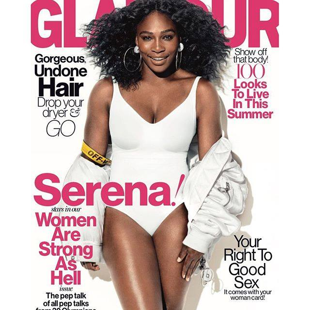serena williams glamour