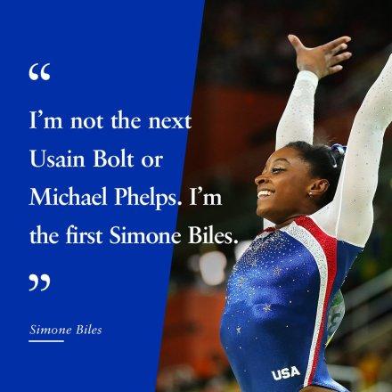 Simone Biles usan bolt michael phelps